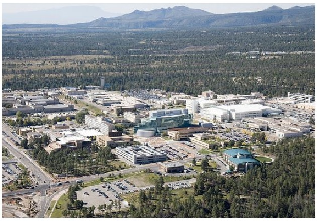 The Los Alamos National Laboratory is a United States Department of Energy national laboratory situated in New Mexico. Image used courtesy of Los Alamos National Laboratory