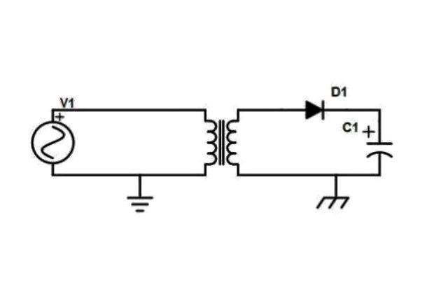 A Transformer provides galvanic isolation. Image courtesy of All About Circuits