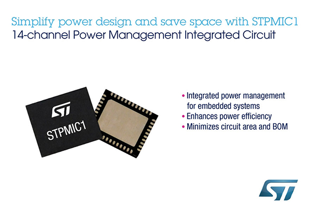 STMIcroelectronics STPMIC1 Product Image