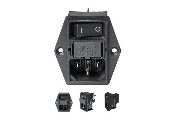 A member of the DD11 Series of Power Entry Modules. Image courtesy of Schurter's Datasheet