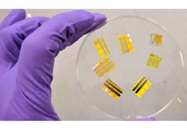 UCL and IIT scientists develop ultrathin OLED tattooable technology. Image used courtesy of Barsotti – Italian Institute of Technology