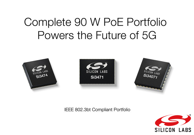 Silicon Labs Powers the Future of 5G Small Cells with Complete Power over Ethernet Portfolio Figure 1