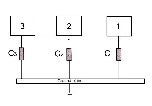 Figure 8. Hybrid configuration (with capacitors).