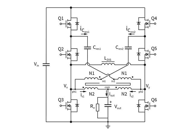 HSC converter topology