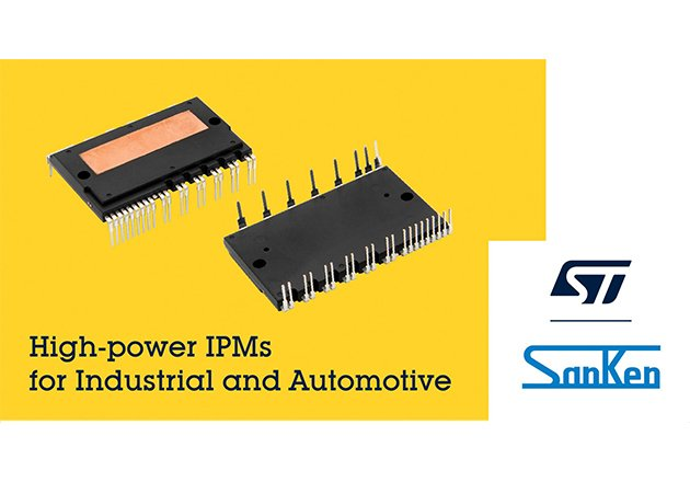 STMicroelectronics and Sanken Electric will have IPMs designed to simplify motor drives in HVAC systems while providing short-circuit protection.