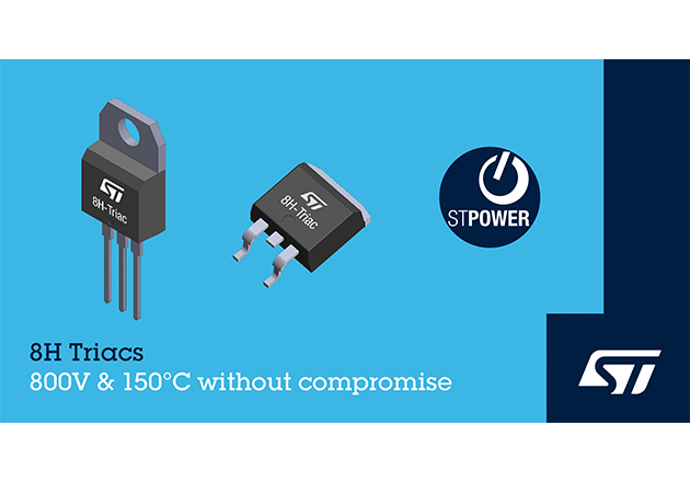 STMicroelectronics Introduces a line of 800V, Snubberless Triacs Figure