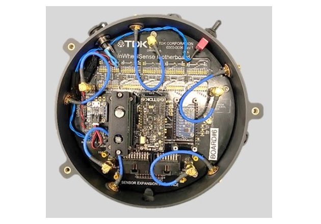 IWCM mother board with sensors. Image courtesy of TDK.