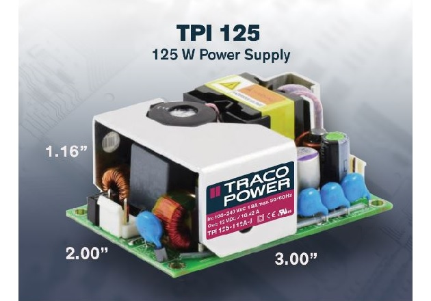 TRACO POWERs New AC-DC Power Supply Optimized