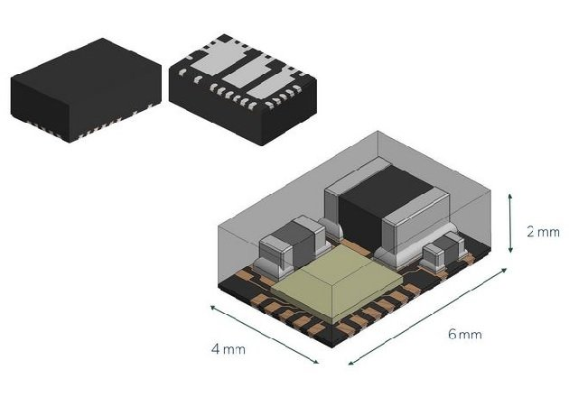 Figure 1: The APM80900 is a 40 V, 1.5 A synchronous buck LED driver ClearPower module by Allegro MicroSystems