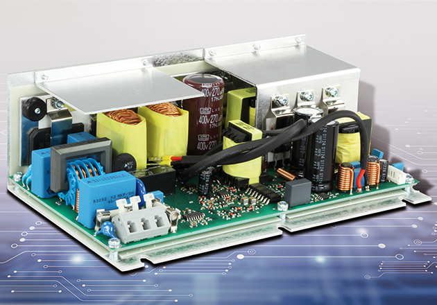 Example of a 100% tailor-made medical power supply.