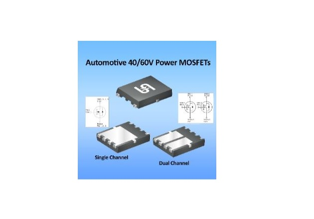 Taiwan Semiconductor's Automotive 40-60V MOSFETs are 100 percent Tested for Key Specs