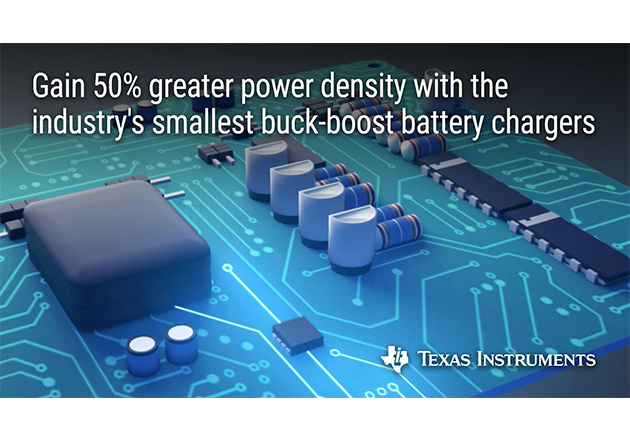 Texas Instruments Introduces Buck-Boost Battery Charger Figure