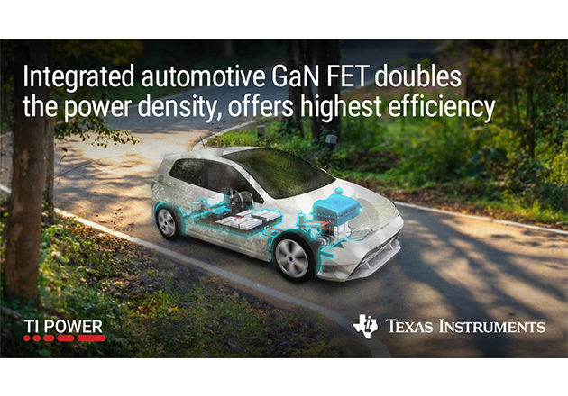 Texas Instruments Introduces GaN FET Drivers for Automotive Applications Figure