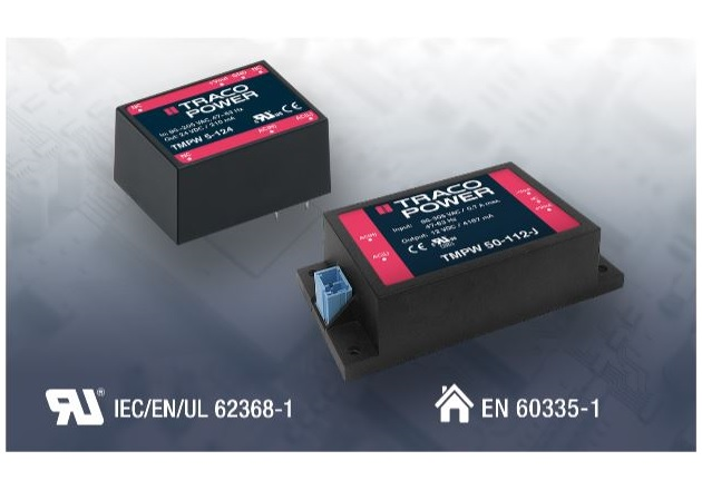 Ultra-Compact Encapsulated AC-DC Power Supplies from Traco Power Fig1