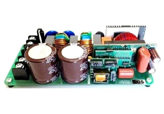 Figure 4: 2.4kW PFC reference design using a totem-pole bridgeless topology and 150V MOSFET switches