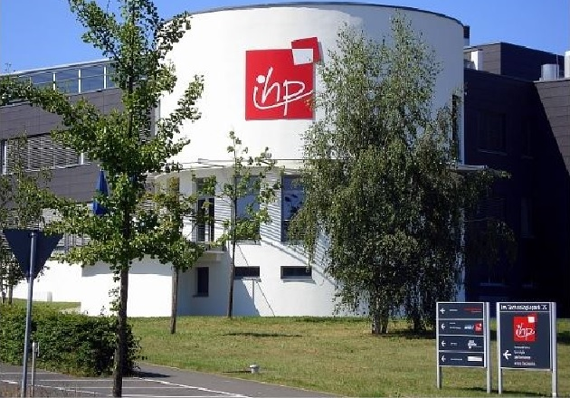 The IHP building in the East Brandenburg Technology Park. Image used courtesy of IHP.