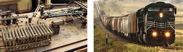 braking resistor on roof of train