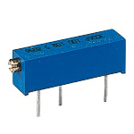 Multi-turn linear trimming potentiometer