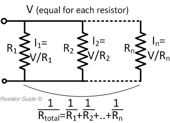 resistors in parallel and their equivalent resistance