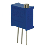 Top adjustable multi-turn trimmer potentiometer