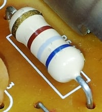Resistor is a passive two-terminal element to resist electric current in electric circuits