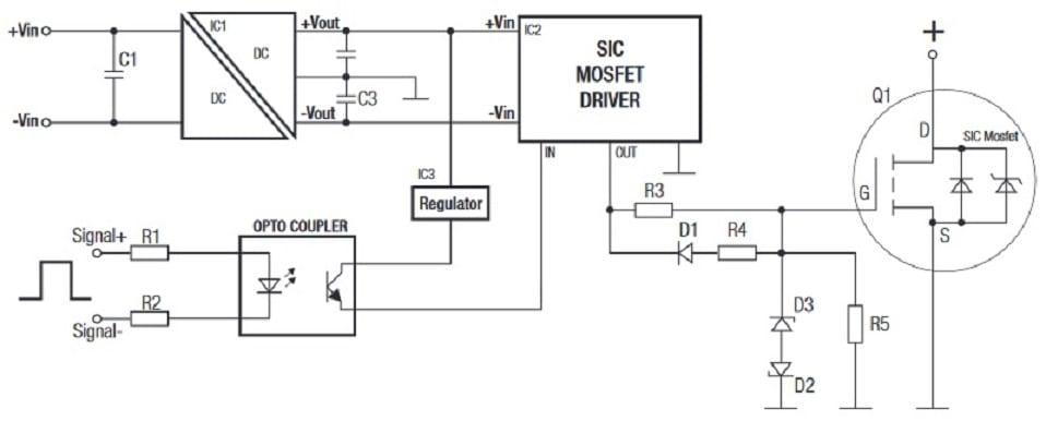 Dc Dc Converters For Driving Next Gen Sic Mosfets Powerpulse