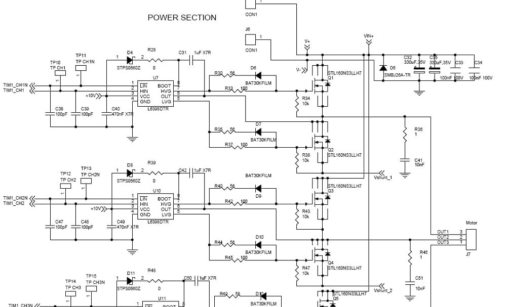electronic speed controller reference design for drones powerpulse net rh powerpulse net Electric Speed Controller Electronic Speed Controller Design
