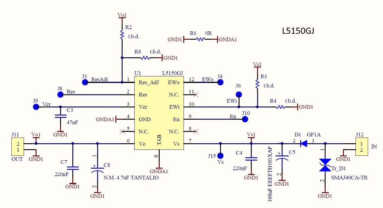 Simplifying the Evaluation of AEC Q100 Certified Voltage Regulators schematic nte 935 voltage regulator wiring diagram wiring diagrams  at gsmportal.co