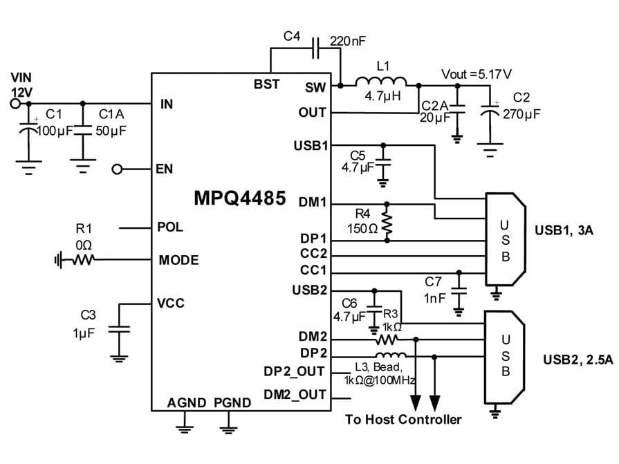 36v 6a step down converter with dual usb charging ports. Black Bedroom Furniture Sets. Home Design Ideas