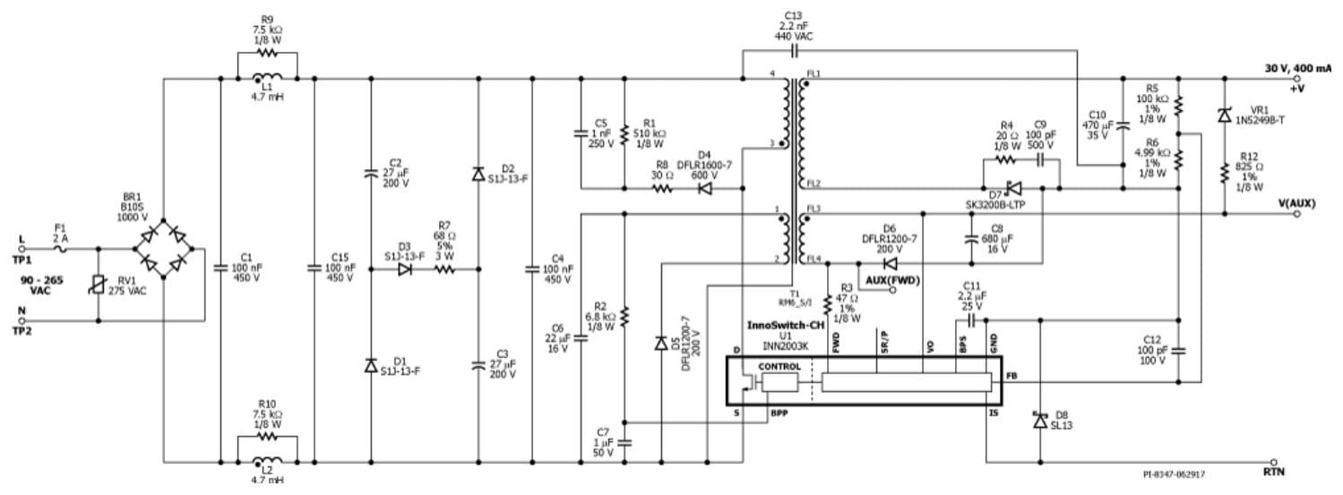 Color Adjustable Smart Lighting Reference Design Diagram Click On Schematic To Enlarge