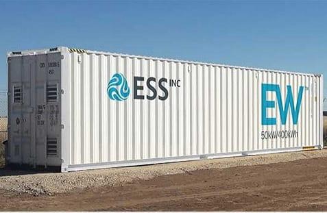| ess raises $13 million for commercialization of iron flow batteries - powerpulse. Net