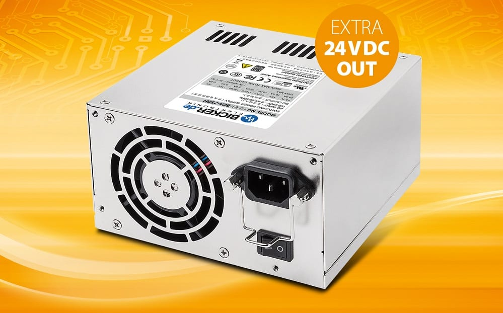 2-in-1 Industrial PC Power Supply: ATX + Added 24Vdc/7A Output ...