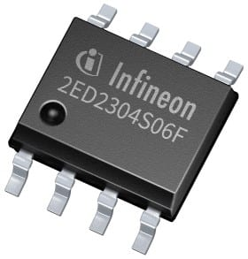 650v Half Bridge Gate Driver Ic With Integrated Bootstrap