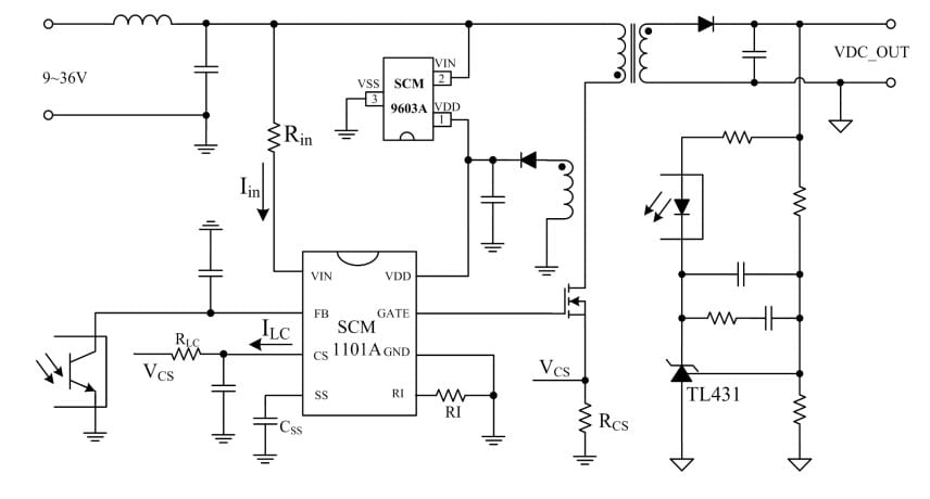 DC-DC Controller ICs for 0 1W to 40W Industrial Power