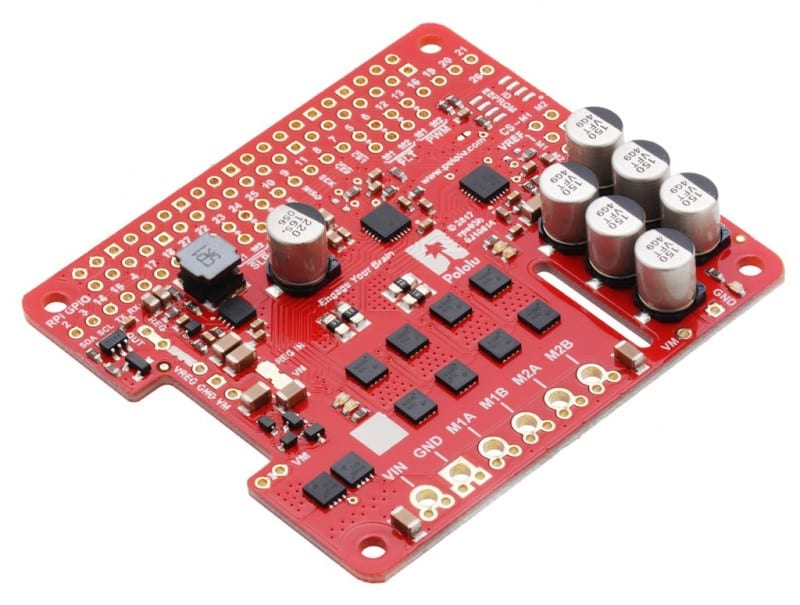 Raspberry Pi Motor Driver Add-on Boards - PowerPulse net