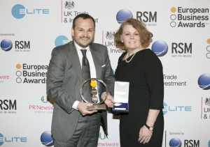 BMZ Founder Sven Bauer as RSM Entrepreneur of the Year