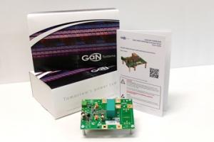 Half-Bridge Evaluation Board Simplifies GaN Transistor Testing