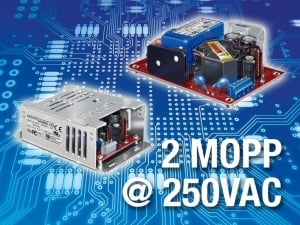 Medical-Certified 40W and 65W Power Supplies