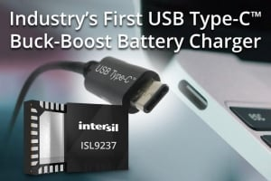Industry's First USB-C Buck-Boost Battery Charger Now Shipping