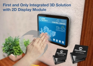 First Development Kit for integrated 2D Projected Capacitive Touch and 3D Gestures on Displays