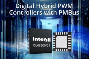 Digital Hybrid PWM Controllers with PMBus Simplify Power Supply Design for Data Center