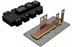 Laminated Busbar Enabling High Frequency, High Voltage, and High Temperature Electronics