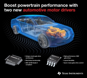 Two New Drivers for Automotive Brushless DC Motors