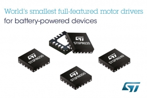 Smallest Motor Drivers of Battery-Powered Devices for the Internet of Things