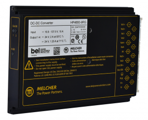 Compact, Ruggedized Melcher™ HP Series DC-DC Converter Launched