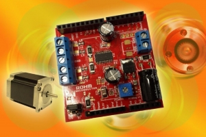 Arduino Shield for Easier and Faster Stepper Motor Driver Designs