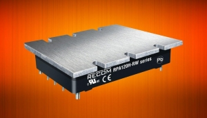 120W Half-Brick DC/DC Converters for Rail and Monitoring Applications