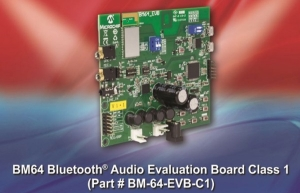 BM64 Bluetooth Audio Evaluation Board