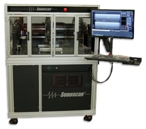 Large-Area C-SAM® Tool for the Production Floor