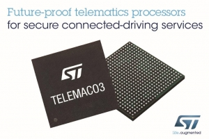 Single-Chip Telematics and Connectivity Processors to Support Connected-Driving Services